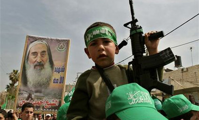 Hamas-Child-Does-Their-Fighting