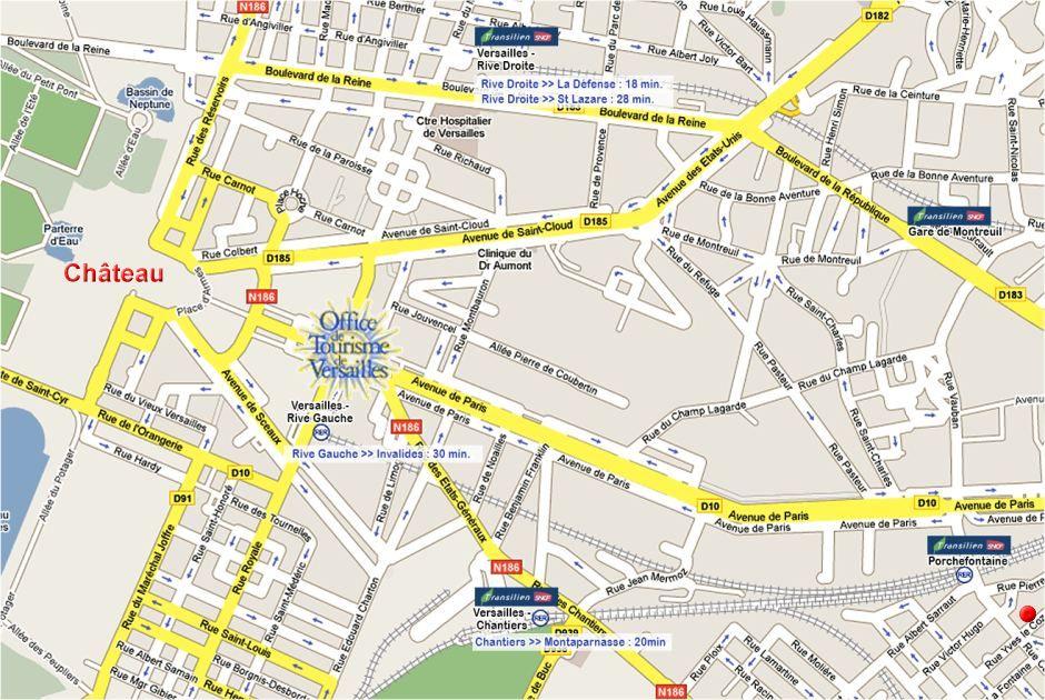 Plan Centre Ville De Lourdes